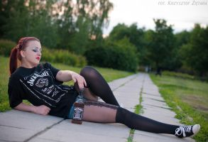 Whiskey Girl III by Kriss1983