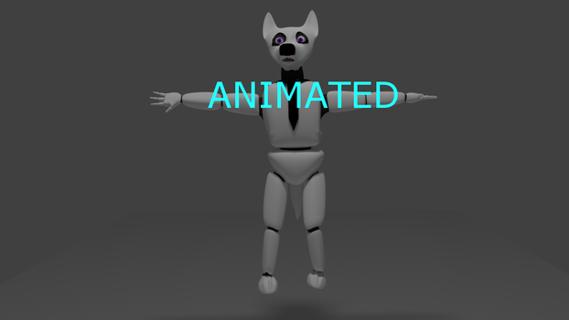 FNWW 3D Will The Wolf ANIMATION by OpponentYew2000