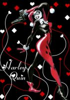 Harley Quin by Lex--Luthor