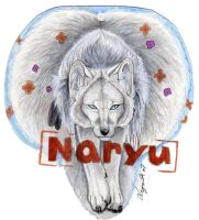 Naryu badge-gift- by Lyanti