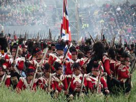 Highland Regiment in Square by R4ff3r