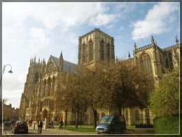 York Minster by WormWoodTheStar