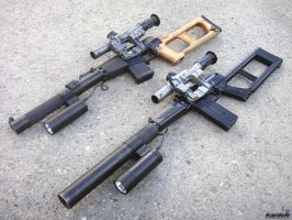 VSS_VSK-94 sniper rifles 6 by Garr1971