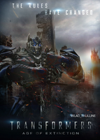 Transformers: Age of Extinction |NEW Poster| by Wlad-SkuLLine
