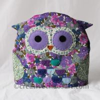 Owl Tea Pot Cosy by bicyclegasoline