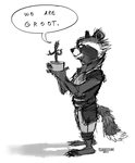 Rocket and Groot by Greevixor