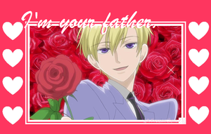 Ouran High School Valentine: Tamaki's Your Father by FrozenClaws