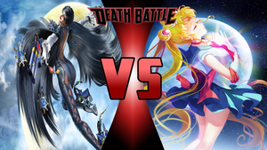 Bayonetta vs Sailor Moon by Dynamo1212