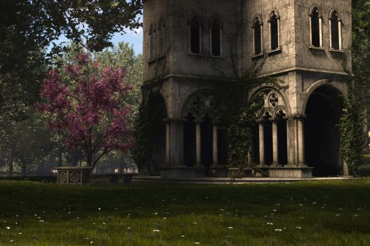 Cloisters in TG2 by Buzzzzz