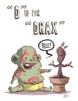 D Is For Drax by OtisFrampton