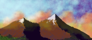Mountain Clouds by Satanizmihomedog