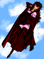 Scarlet Witch Finished by Irishluffy
