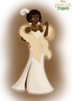 Princess and the Frog: Tiana by sailormuffin