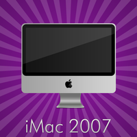 Apple iMac 2007 by cruzerDESIGN