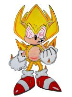 Fleetway Super Sonic atempt by UltimateFrieza