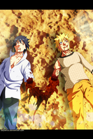 Naruto and Sasuke - Naruto #698 by JoeZart63
