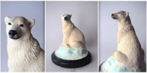 :.Polar Bear.: by XPantherArtX