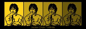 jackie chan by Infinite08