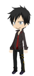 Evil Adachi by MariSanomaFanFic