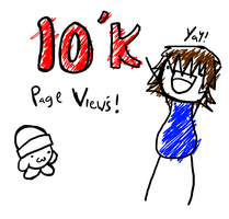 10K Page views. by SCP-079