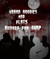 Urban hoodies and flats GIMP Brushes by gorgonbreath