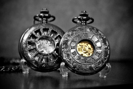 Skeleton Pocket watch II by Phoenix001