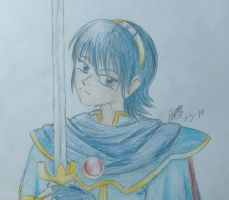 Marth Lowell by LightShappy