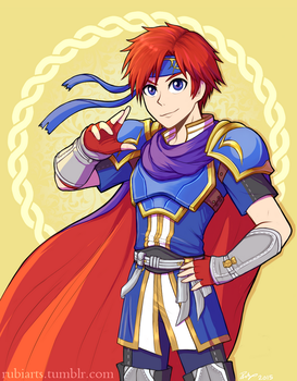 Roy Print by firehorse6