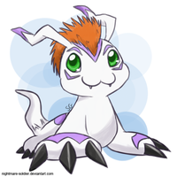 Gomamon by nightmare-soldier