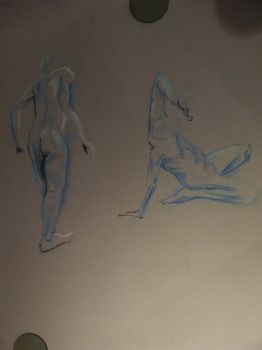 life drawing - colour drawings by COMBAT-BANANA