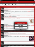 Custom Twitter iOS iPad Application (Retina) by Razz94