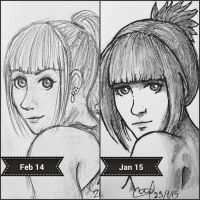 1 year (almost) improvement (O.O) by brechdaslicht