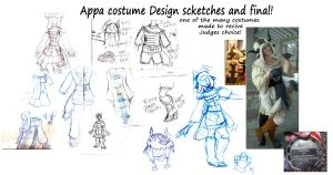 Appa costume and design by kyoukenbyou