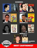 BEST CARTOONIST CATEGORY by komikon
