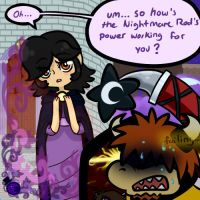 How's The Nightmare Rod Going? by HeartStringsXIII