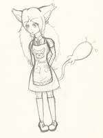Kawaii's apron WIP by Tess-Is-Epic