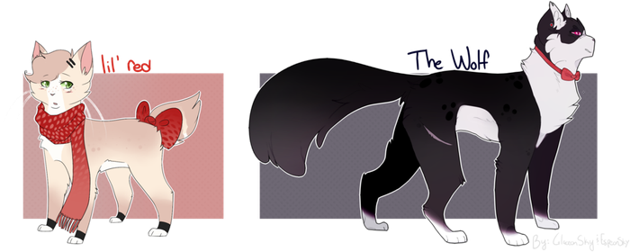 Feline Collab Adopts by GlaceonSky