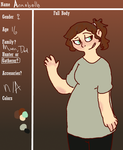 Annebelle Application Sheet by Sikey101