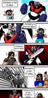 Mazinger Z is the best of all. by BlueStrikerBomber