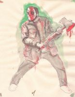 Jason Drawings from Advanced Figure Drawing by Stilltsinc