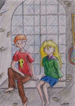 Ron and Luna by Ember-Lee