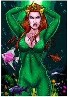 Mera Colors. by Troianocomics