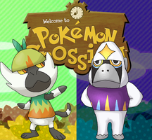 Animal Crossing: Passimian and Oranguru