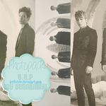 Photopack #108 | B.A.P - 1st Sensibility by IrethStyle