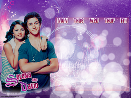 Selena and David timetable by Pauline-graphics