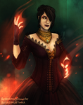DA3: Morrigan by Weissidian