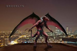 GARGOYLES: BROOKLYN by MiniriFpomsiyu