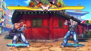 Festival at the Old Temple - Training Stage by streetfighterrox