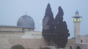 Alaqsa Mosque by Haleema-A