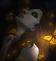 Caged Butterflies by Amora-Delara